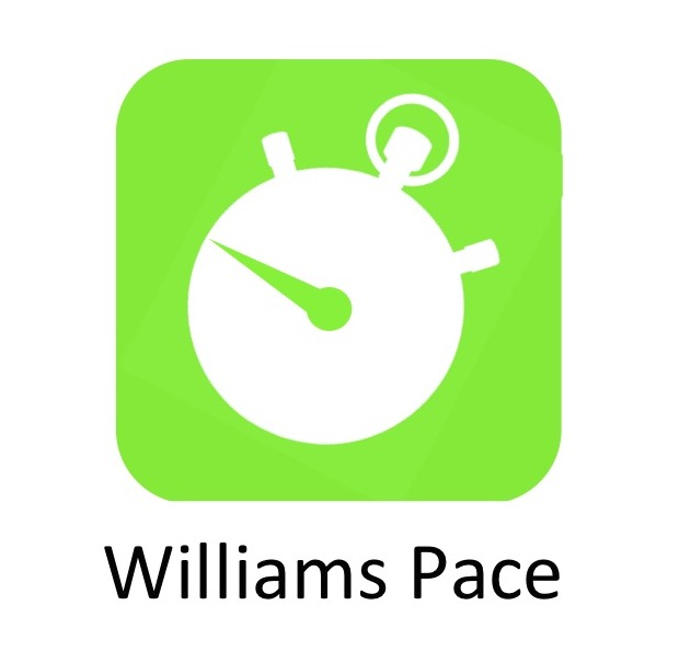 Williams Pace Calculator